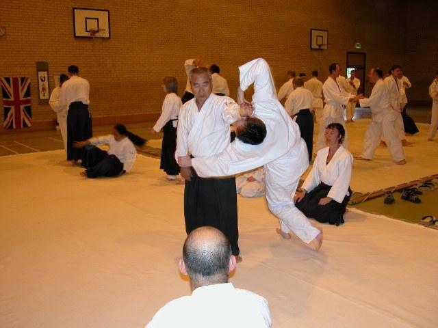 Yamashima Sensei ( Manchester 2004 )