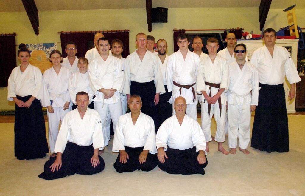 Yamashima Sensei Course Macclesfield 2008
